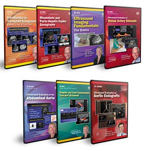 CME - Abdominal Doppler Ultrasound DVD Course Pack