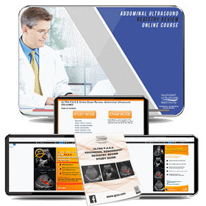 Abdominal Ultrasound Registry Review - Online Gold Package