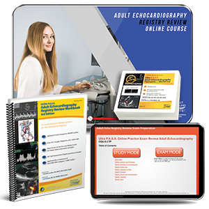 CME - Adult Echocardiography Registry Review - Gold Package
