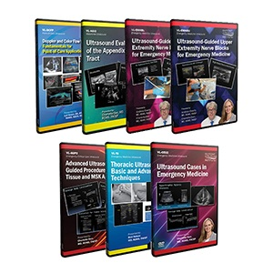 Advanced Emergency and Critical Care Ultrasound DVD Course Pack