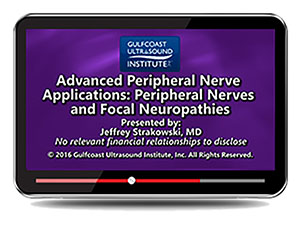 Advanced Peripheral Nerve Applications: Diagnosis and Treatment Options