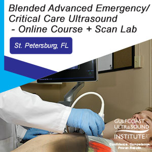 Blended Advanced Emergency/Critical Care Ultrasound