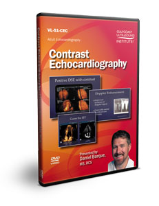Contrast Echocardiography - DVD
