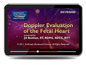 Doppler Evaluation of the Fetal Heart