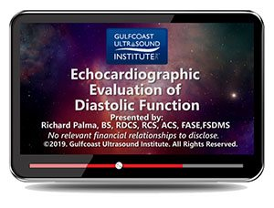 Echocardiographic Evaluation of Diastolic Function