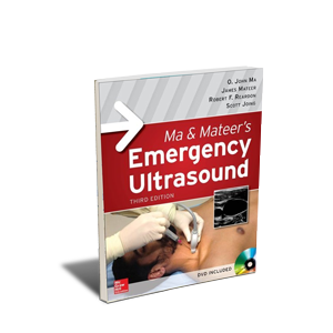 CME - Emergency Ultrasound- 3rd Ed. - Hardcover Book