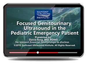 Focused Genitourinary Ultrasound in the Pediatric Emergency Patient