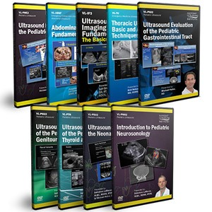 General Pediatric Ultrasound DVD Course Pack