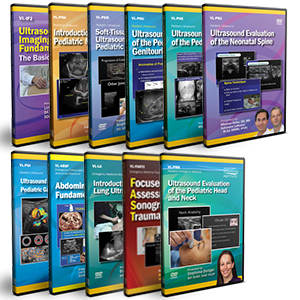 CME - General Pediatric Ultrasound DVD Course Pack