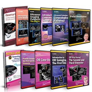 CME - Introduction to OB/GYN Ultrasound DVD Course Pack