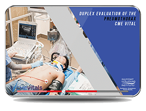 CME - Ultrasound Evaluation of Pneumothorax