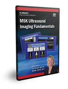 MSK Ultrasound Imaging Fundamentals - DVD