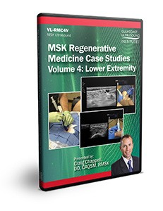 MSK Regenerative Medicine Case Studies Volume 4: Lower Extremity - DVD