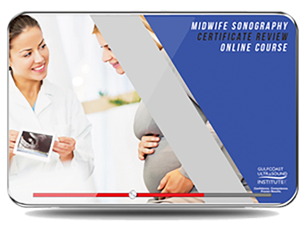CME - Midwife Sonography Certificate Review