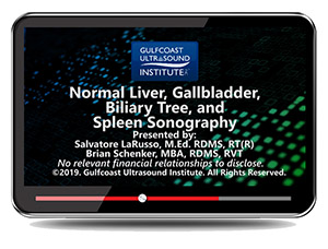 Normal Liver, Gallbladder, Biliary Tree, and Spleen Sonography
