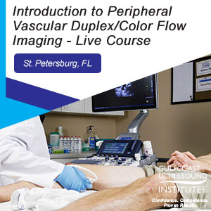 CME - Introduction to Peripheral Vascular Duplex/Color Flow Imaging