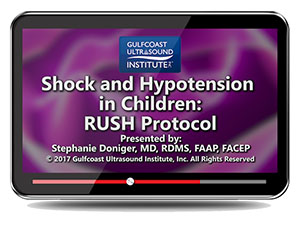Shock and Hypotension in Children: RUSH Protocol