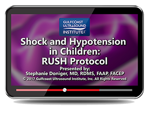 CME - Shock and Hypotension in Children: RUSH Protocol