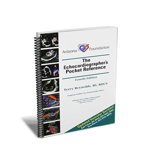 CME - The Echocardiographic Pocket Reference 4th Ed. - Spiral Bound Book