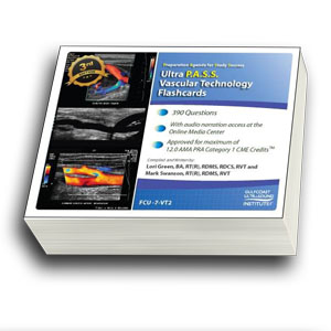 ULTRA P.A.S.S. Vascular Technology Registry Review Flashcards