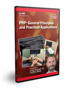 PRP: General Principles and Practical Applications - DVD