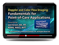 CME - Doppler and Color Flow Imaging: Fundamentals for Point-of-Care Applications
