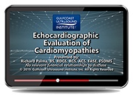 CME - Echocardiographic Evaluation of Cardiomyopathies