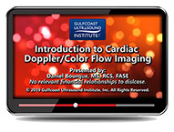 CME - Introduction to Cardiac Doppler/Color Flow Imaging