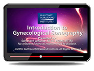 CME - Introduction to Gynecological Sonography