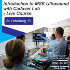 CME - Introduction to Musculoskeletal Ultrasound with Interventional Cadaver Lab - MC-201
