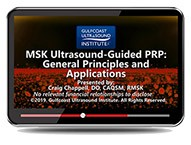 CME - MSK Ultrasound Guided PRP: General Principles and Applications