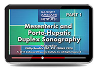 CME - Mesenteric and Porto-Hepatic Duplex Sonography