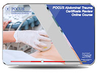 CME - POCUS Abdominal Trauma Certificate Review Online Course