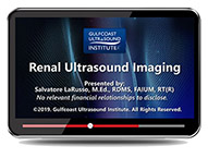 CME - Renal Ultrasound Imaging