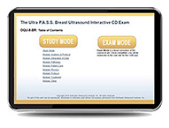 CME - ULTRA P.A.S.S. Breast Ultrasound Interactive Registry Review Online Mock Exam - MOCK-8-BR